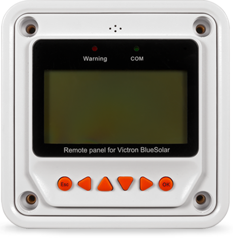 Remote Panel for BlueSolar PWM-Pro